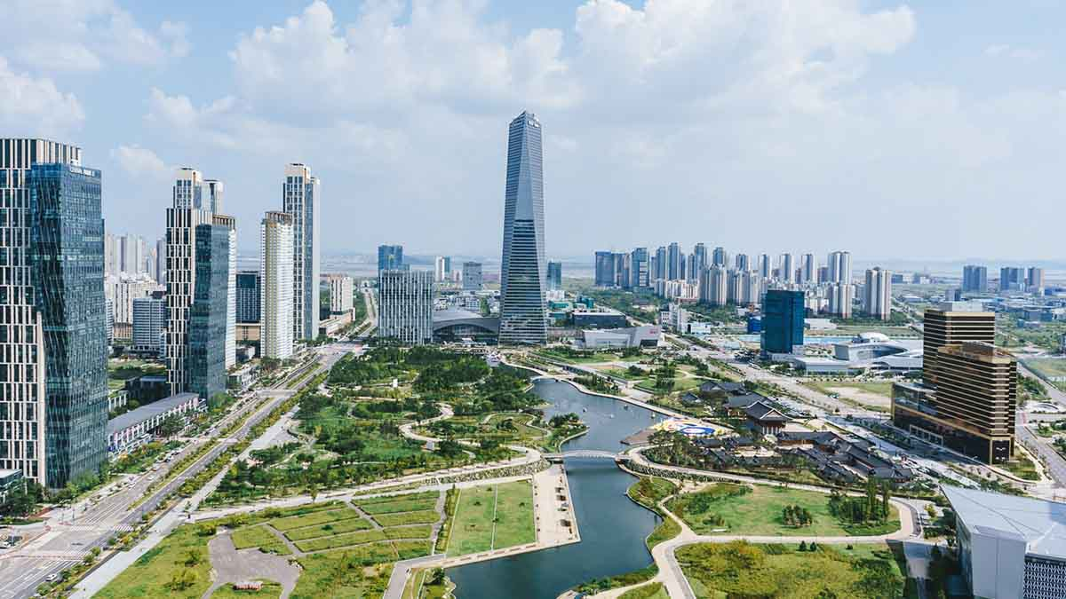 Vontobel Impact - Smart City South korea Songdo City